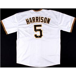 Josh Harrison Signed Pirates Jersey (TSE COA)