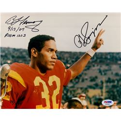 OJ Simpson Signed USC Limited Edition 8x10 Photo from Infamous Vegas Robbery with Case Evidence Cert
