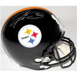 Hines Ward Signed Steelers Full-Size Helmet (TSE COA)