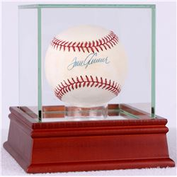 Tom Seaver Signed ONL Baseball with High Quality Display Case (PSA COA)
