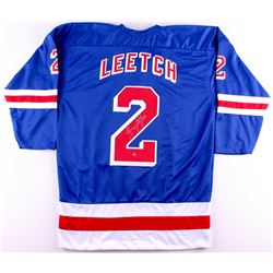 Brian Leetch Signed New York Rangers Jersey (Steiner COA)