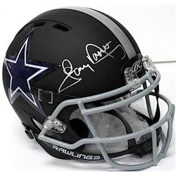 Tony Dorsett Signed Cowboys Matte Black Full-Size Authentic Proline Helmet (JSA COA)
