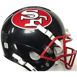 San Francisco 49ers Custom Full-Size Authentic Proline Helmet