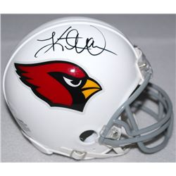 Kurt Warner Signed Cardinals Mini-Helmet (JSA COA)