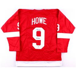 "Gordie Howe Signed Red Wings Jersey Inscribed ""Mr. Hockey"" (PSA COA)"