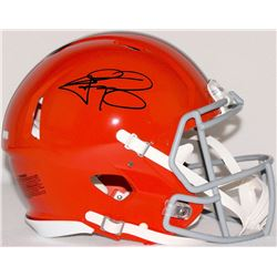 Johnny Manziel Signed Browns Full-Size Authentic Proline Speed Helmet (Panini COA)