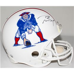 Tom Brady Signed Patriots Throwback Full-Size Authentic Pro-Line Speed Helmet (JSA LOA, TriStar, Fan