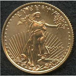 2016 1/10 oz Gold American Eagle $5 Coin