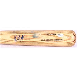Kris Bryant Signed Tucci Lumber Game-Used Baseball Bat (JSA COA)