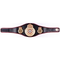 Mike Tyson Signed WBA High Quality Replica Full-Size Heavyweight Champion Belt (JSA COA)