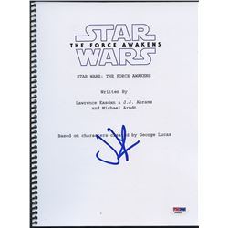 "J. J. Abrams Signed ""Star Wars: The Force Awakens"" Full Script (PSA COA)"