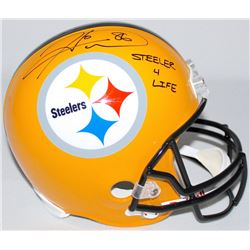 "Hines Ward Signed Steelers Full-Size Helmet Inscribed ""Steeler 4 Life"" (TSE COA)"