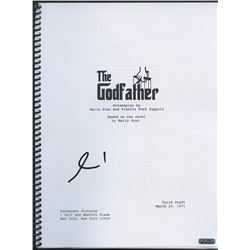 "Al Pacino Signed ""The Godfather"" Full Script (PTS COA)"