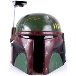 "Jeremy Bulloch Signed Star Wars ""Boba Fett"" Full-Size Star Wars Helmet Inscribed ""Boba Fett"" (Legend"