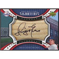 Dwight Evans 2007 Sweet Spot Classic Signatures Barrel Black Ink #EV
