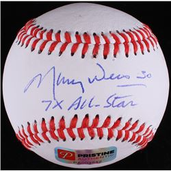 "Maury Wills Signed Baseball Inscribed ""7x All-Star"" (PA COA)"