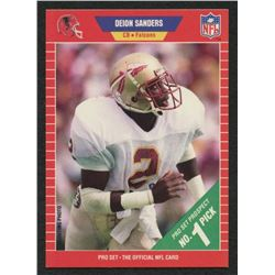 Deion Sanders 1989 Pro Set #486 RC