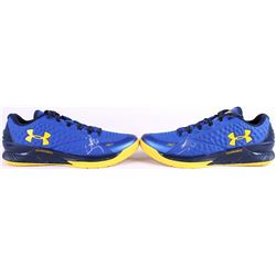 "Pair of (2) Stephen Curry Signed Under Armour Custom ""Curry"" Game Model Basketball Shoes (JSA ALOA)"