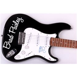 Brad Paisley Signed Custom Full-Size Electric Guitar (PSA COA)