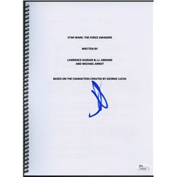 "J. J. Abrams Signed ""Star Wars: The Force Awakens"" Full Script (JSA COA)"