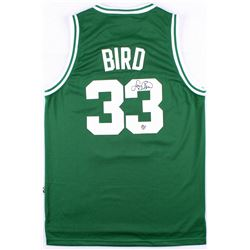 Larry Bird Signed Celtics Jersey (Bird Hologram)