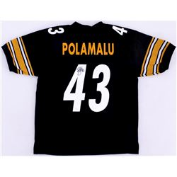 Troy Polamalu Signed Steelers Jersey (JSA COA)