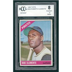 Roberto Clemente 1966 Topps #300 (BCCG 8)