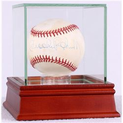 Brooks Robinson Signed OAL Baseball with High Quality Display Case (JSA COA)