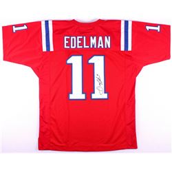 Julian Edelman Signed Patriots Throwback Jersey (JSA COA)