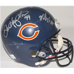 1985 Chicago Bears Multi-Signed Super Bowl XX Champs Full-Size Logo Helmet Signed By (8) With Walter