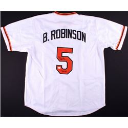 "Brooks Robinson Signed Orioles Jersey Inscribed ""HOF 83"" (JSA Hologram)"