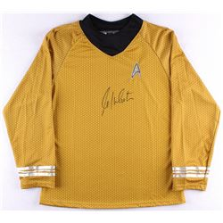 "William Shatner Signed Star Trek ""Captain James T. Kirk"" Prop Replica Uniform Shirt (JSA ALOA)"