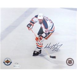 Wayne Gretzky Signed Oilers Limited Edition 8x10 Photo #61/99 (UDA)