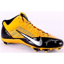 James Harrison Signed Steelers Nike Football Shoe (TSE COA)