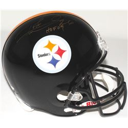 "Rod Woodson Signed Steelers Full-Size Helmet Inscribed ""HOF 09"" (Steiner COA)"