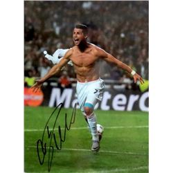 Cristiano Ronaldo Signed Real Madrid 12x16 Photo (Icons COA)