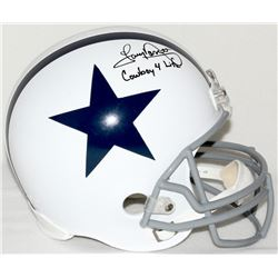 "Tony Dorsett Signed Cowboys Full-Size Helmet Inscribed ""Cowboy 4 Life"" (JSA COA)"