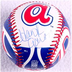 Hank Aaron Signed Atlanta Braves Commemorative Baseball (JSA)