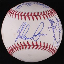 1969 Mets Team-Signed OML Baseball Signed by (17) with Nolan Ryan, Cleon Jones, Jerry Koosman, Ed Kr