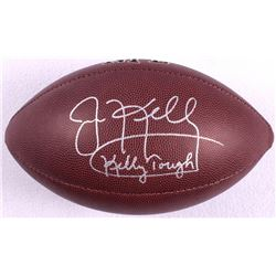 "Jim Kelly Signed Football Inscribed ""Kelly Tough"" (JSA COA)"