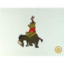 Winnie The Pooh Walt Disney Limited Edition Animation Serigraph Cel