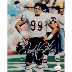 Dan Hampton Signed Bears 8x10 Photo (JSA COA)