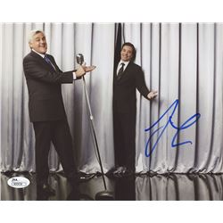 Jay Leno Signed 8x10 Photo with Jimmy Fallon (JSA COA)