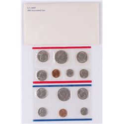 1981 United States Mint Uncirculated Set of (13) Coins
