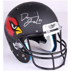 David Johnson Signed Cardinals Full-Size Custom Matte Black Helmet (JSA COA)