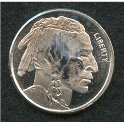 Buffalo 1/10 Troy Oz. Fine Silver American Indian Round Copy from Highland Mint