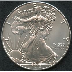 2016 $1 American Eagle Silver Dollar (Brilliant Uncirculated Condition)
