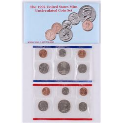 1994 United States Mint Uncirculated Set of (12) Coins