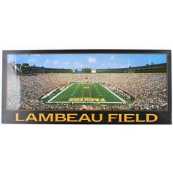 Green Bay Packers Lambeau Field 16x36 Lithograph