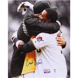 Clint Hurdle Signed Pirates 16x20 Photo (TSE Hologram)